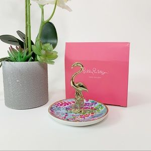 Lily Pulitzer Ring Holder Catch the Wave Gold F